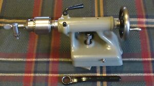 South Bend 9 9 Southbend A B C Tailstock T 100n W Jacobs Chuck Nice