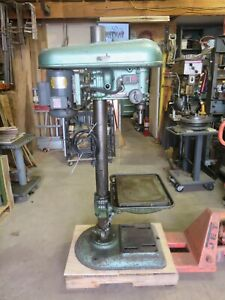 Delta Rockwell Drill Press 17 Production Table 1140 Single Phase 110 2 Taper
