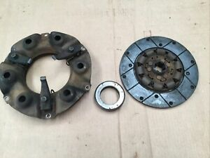 Farmall ih A B Bn Motor Clutch Pressure Plate Assembly With Throwout Bearing