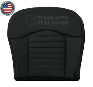 2000 Ford F 150 Harley Davidson Driver Side Bottom Leatherette Seat Cover Black