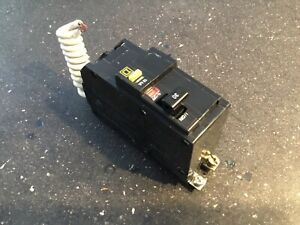 Circuit Breaker Square D Qob230gfi Gfci 2 Pole 30 Amp Bolt On Metal Clip