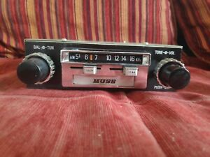 Vintage Muse Cassette Car Stereo With Am Radio