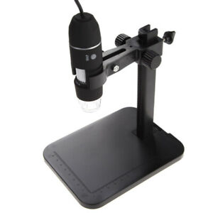 Digital Usb 2mp 1000x 8 led Microscope Endoscope Magnifier Camera lift Stand Hot