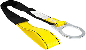 Guardian Fall Protection 10715 4 foot Loop And D ring End Concrete Anchor Strap