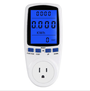 Power Consumption Energy Voltage Amps Electricity Usage Monitor Watt Meter