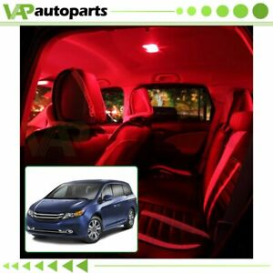For Buick Lacrosse 05 13 Interior Car Inside Led Package Kit Red Led Lights
