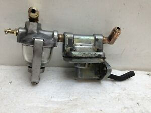 Vintage Fuel Pump For Wisconsin Te Tf Th Tjd Thd 2 cylinder Engine