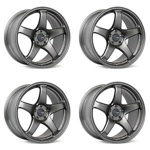 Enkei Pf05 17x9 40 5x114 3 Lightweight Track Racing Wheels 40mm 40 Offset Ds