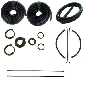 1947 1950 Chevrolet Gmc Truck Complete Weatherstrip Seal Kit With Trim Groove