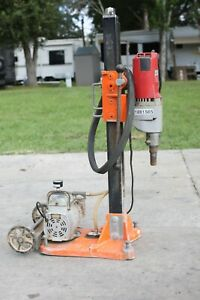 Milwaukee Core Drill With Stand
