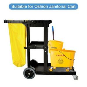 9 5 Gallon Large Mop Bucket With Wringer Combo Commercial Rolling Cleaning Cart