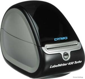 Dymo Labelwriter 450 Turbo Usb Label Thermal Printer 71 Lpm Pc Mac 1752265