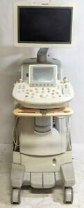 Philips Iu22 989605387991 Ultrasound System S8 3 S12 4 S5 1 D2cwc Probes