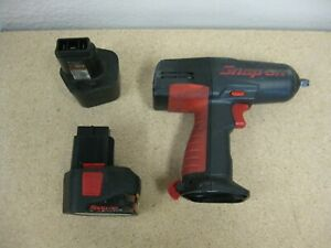 Snap On Cordless Ct3110 12v 3 8impact Tool Untested For Parts Repair