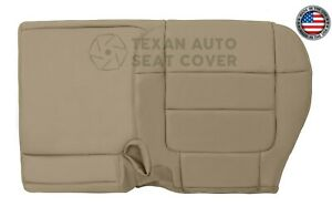 2001 Ford F150 Lariat 2wd Passenger Bench Synthetic Leather Seat Cover Tan 60 40