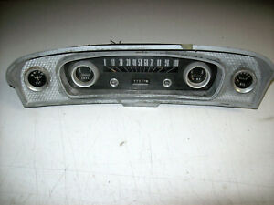 1965 1966 65 66 Ford F100 Custom Cab Four Gauge Speedometer Instrument Cluster A