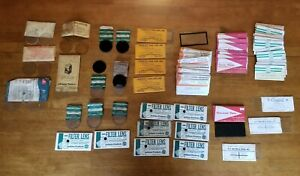Large Vintage Lot Welding Glass Filter Lens Cover Plates American Optical 10