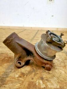 1926 27 Ford Model T Water Outlet With Fan Pulley Ford Script