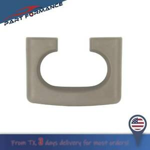Center Console Cup Holder Replacement Pad Tan Color For Ford F150 2004 2014