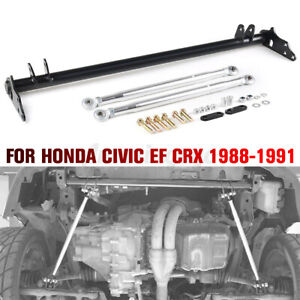 For Honda Civic Ef Crx 88 91 Front Suspension Traction Control Arm Tie Bar Kit