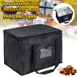 Thermal Insulated Delivery Bag Hot Food Pizza Takeaway Restaurant Picnic Large