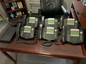 Office Phone System Yeastar Mypbx Standard 6x Polycom Ip 550 Voip Phones
