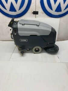 Advance Sc900 34 Automatic Floor Scrubber Walk Behind W Batteries W Shipping