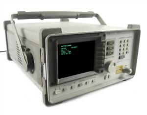 Hewlett Packard Hp 8145a Optical Time Domain Reflectometer options 002 012