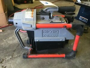 Ridgid K 60sp 115v Sectional Drain Cleaning Machine