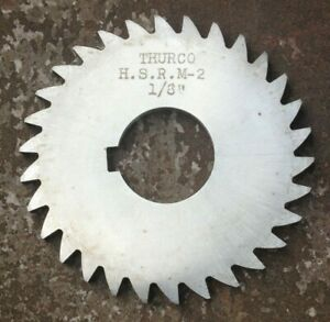 Thurco Hsr M 2 Milling Cutter Slitting Saw 3 X 1 8 X 1
