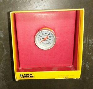 Auto Meter Ultra lite Egt Gauge 2 1 16 Turbo Nitrous New Old Stock Nos