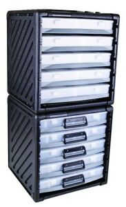 Flambeau 8500jt Storage Cabinet With 5 Parts Cases