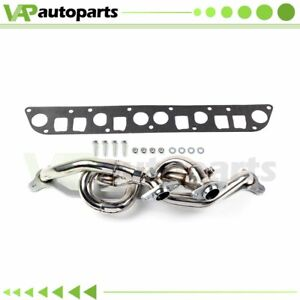 Stainless Exhaust Header Amc 242 For 00 06 Jeep Wrangler Tj 4 0l Racing Manifold
