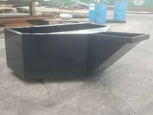Mini Skid Steer 3 4 Yard Concrete Bucket Hopper Pour Style Toro Dingo Etc
