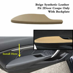 Front Left Door Armrest Cover Beige Leather Fit For Honda Accord 2008 2012 Coupe