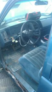1992 1993 1994 Chevy Pickup 1500 Steering Column Tilt Cruise With Key