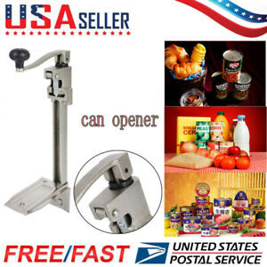 11 large Commercial Catering Kitchen Heavy Duty Bench Table Clamp Tin Can Opener