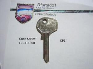 Key Blank For Vintage Porsche 911 912 Ignition Doors Trunk 1967 To 1969 Kp1