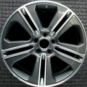 Ford Mustang Machined Charcoal No Gt 19 Inch Oem Wheel 2013 To 2014