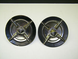 1957 57 Chevy Chevrolet Bel Air 150 210 Used Gm Front Bumper Guard Inserts