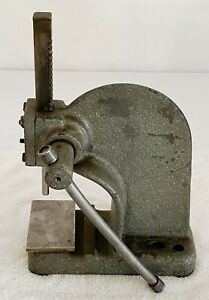 Famco No 0 A Small Bench Arbor Press 1 2 Ton Machinist Gunsmith Usa Mini
