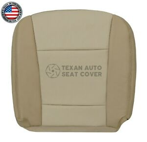 2006 2007 2008 Ford Explorer Limited Xlt Driver Bottom Leather Seat Cover Tan