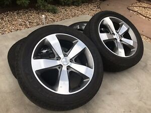 Set Of 4 20 Jeep Grand Cherokee Durango Oem Factory Wheels Rims Tires 9137 W155