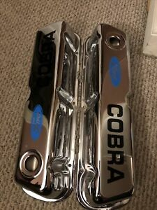 Ford Small Block 302 5 0 Chrome Valve Covers New