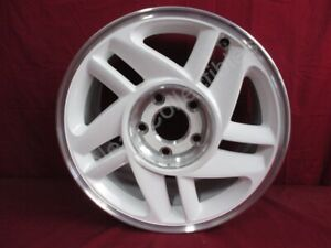 Nos Oem Chevrolet Camaro Indy Pace Car 16 Whilte Alloy Wheel 1993