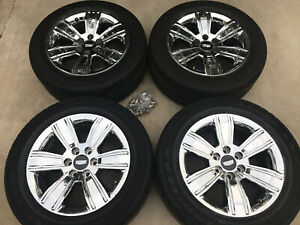 Set Of 4 20 Gmc Sierra 1500 Chevy Silverado Factory Oem Wheels Rims Chrome 5752