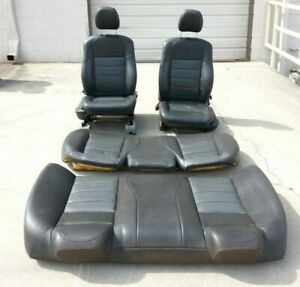 Dodge Charger Oem Complete Front Rear Leather Seat Set 06 10