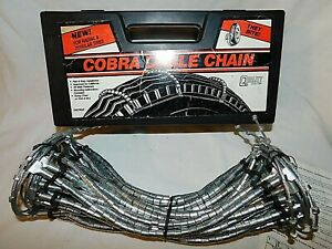 Cobra Cable Tire Snow Chains Stock 1046 Never Used