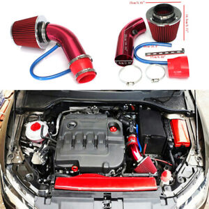 Car Accessory Cold Air Intake Filter Induction Set Pipe Power Flow Hose System