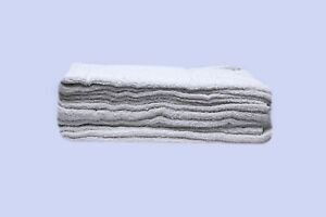 Standard 16 X 19 White Commercial Bar Towels 24onz Weight On Special Discount